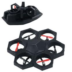ROBOT SPC MAKEBLOCK AIRBLOCK - 6 MOTORES - 3 LEDS - GIROSCOPIO / ACELEROMETRO - BT - MODALIDAD DRONE/HOVERCRAFT